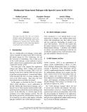 "Báo cáo khoa học: ""Multimodal Menu-based Dialogue with Speech Cursor in DICO II+"""
