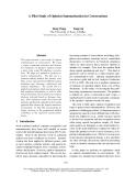 "Báo cáo khoa học: ""A Pilot Study of Opinion Summarization in Conversations"""