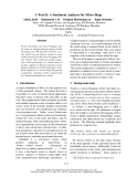 """Báo cáo khoa học: """"A Sentiment Analyzer for Micro-blogs"""""""