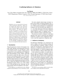 "Báo cáo khoa học: ""Combining Indicators of Allophony"""