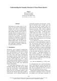 "Báo cáo khoa học: ""Understanding the Semantic Structure of Noun Phrase Queries"""
