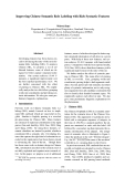 """Báo cáo khoa học: """"Improving Chinese Semantic Role Labeling with Rich Syntactic Features"""""""