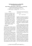"Báo cáo khoa học: ""Optimizing Informativeness and Readability for Sentiment Summarization"""