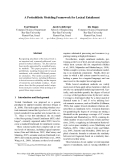 "Báo cáo khoa học: ""A Probabilistic Modeling Framework for Lexical Entailment"""