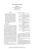 """Báo cáo khoa học: """"Non-Cooperation in Dialogue"""""""