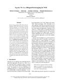 "Báo cáo khoa học: "" Bilingual Bootstrapping for WSD"""