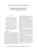 "Báo cáo khoa học: ""Towards Tracking Semantic Change by Visual Analyti cs"""