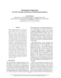 "Báo cáo khoa học: ""Metagrammar Engineering: Towards systematic exploration of implemented grammars"""