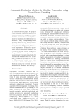 "Báo cáo khoa học: ""Automatic Evaluation Method for Machine Translation using Noun-Phrase Chunking"""
