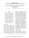 "Báo cáo khoa học: ""Language of Vandalism: Improving Wikipedia Vandalism Detection via Stylometric Analysis"""