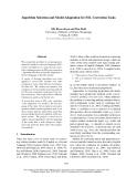 "Báo cáo khoa học: ""Algorithm Selection and Model Adaptation for ESL Correction Tasks"""