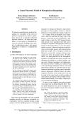 "Báo cáo khoa học: ""A Game-Theoretic Model of Metaphorical Bargaining"""
