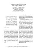 "Báo cáo khoa học: ""Joint Hebrew Segmentation and Parsing using a PCFG-LA Lattice Parser"""