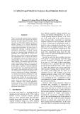"Báo cáo khoa học: ""A Unified Graph Model for Sentence-based Opinion Retrieval"""