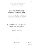 Xử lý thống kê các số liệu trong hóa học phân tích - Huỳnh Văn Trung