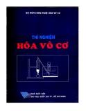 Ebook Thí nghiệm hóa vô cơ - NXB Đại học Quốc gia TP. HCM