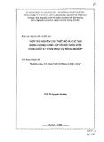 Báo cáo chuyên đề: Nghiên cứu, tính toán thiết kế và chế tạo động cơ điện chìm