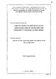 Báo cáo chuyên đề: Hợp tác với nước ngoài trong nghiên cứu thiết kế, chế tạo động cơ chìm