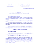 THÔNG TƯ về sửa đổi, bổ sung Chế độ kế toán Doanh nghiệp