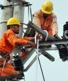 Quy chuẩn kỹ thuật quốc gia về kỹ thuật điện - Tập 6 Vận hành, sửa chữa trang thiết bị hệ thống điện