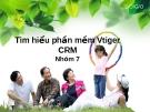 Tìm hiểu phần mềm Vtiger CRM