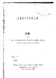 Aristotle Aristotle Aristotle sir Alexander grant, bart., ll.d