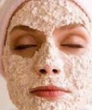 Rửa mặt bằng bột yến mạch 4 tháng trắng da trông thấy