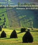 National Sustainable Development Strategy of Romania  2013-2020-2030