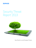 Security Threat Report 2013