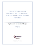 THE NETWORKING AND  INFORMATION TECHNOLOGY  RESEARCH AND DEVELOPMENT  PROGRAM