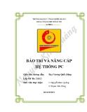 BẢO TRÌ VÀ NÂNG CẤP HỆ THỐNG PC