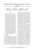 "Báo cáo khoa học: ""Heterogeneous Transfer Learning for Image Clustering via the Social Web"""