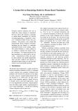 "Báo cáo khoa học: ""A Syntax-Driven Bracketing Model for Phrase-Based Translation"""