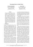 "Báo cáo khoa học: ""Recognizing Stances in Online Debates"""