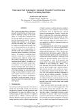 "Báo cáo khoa học: ""Semi-supervised Learning for Automatic Prosodic Event Detection Using Co-training Algorithm"""