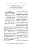 "Báo cáo khoa học: ""Cross Language Dependency Parsing using a Bilingual Lexicon∗"""