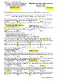 ĐỀ KHẢO SÁT CHẤT LƯỢNG NĂM 2013 Môn: HÓA HỌC - TRƯỜNG THPT PHẠM VĂN ĐỒNG - MÃ ĐỀ 136