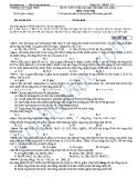 ĐỀ THI THỬ TUYỂN SINH ĐẠI HỌC NĂM 2013-LẦN 2 Môn : Hóa học - TRƯỜNG THPT NAM TRỰC - Mã đề: 140