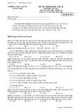 ĐỀ THI THỬ ĐẠI HỌC LẦN III NĂM HỌC  2012-2013 MÔN THI: HOÁ HỌC  KHỐI A,B - TRƯỜNG THPT CHUYÊN LÊ QUÝ ĐÔN - Mã đề thi 485