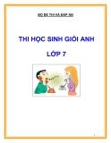 10 Đề thi học sinh giỏi môn Tiếng Anh lớp 7 (có đáp án)