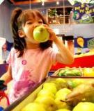 Đủ dưỡng chất để trẻ khỏe mạnh và thông minh