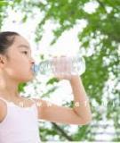 Hãy cung cấp nước cho con bạn