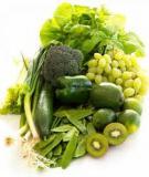 Tác dụng của một số loại rau, củ, quả trong dinh dưỡng và phòng chống bệnh tật