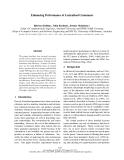 "Báo cáo khoa học: ""Enhancing Performance of Lexicalised Grammars"""