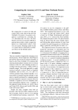 "Báo cáo khoa học: ""Comparing the Accuracy of CCG and Penn Treebank Parsers"""