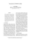 "Báo cáo khoa học: ""Demonstration of a POMDP Voice Dialer"""