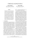 "Báo cáo khoa học: ""Credibility Improves Topical Blog Post Retrieval"""