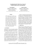 """Báo cáo khoa học: """"Learning Semantic Links from a Corpus of Parallel Temporal and Causal Relations"""""""