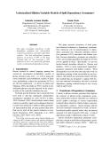 "Báo cáo khoa học: ""Unlexicalised Hidden Variable Models of Split Dependency Grammars∗"""