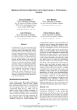 """Báo cáo khoa học: """"Opinion and Generic Question Answering Systems: a Performance Analysis"""""""
